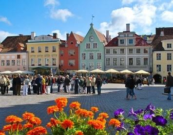 Riga, Tartu og Tallinn