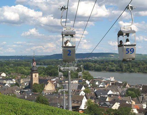 Rudesheim og Rhindalen