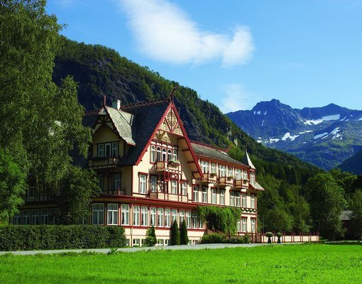 Hotell Union i Øye
