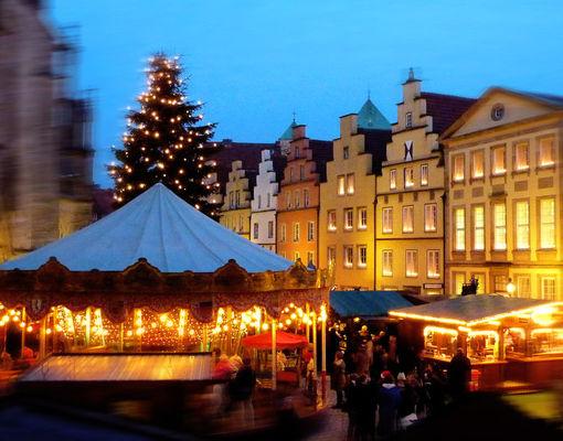 Julemarked i Osnabruck
