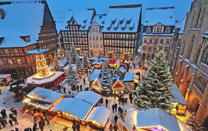 Julemarked i Hildesheim