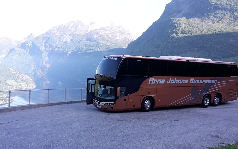 Norges Fjell og Fjorder