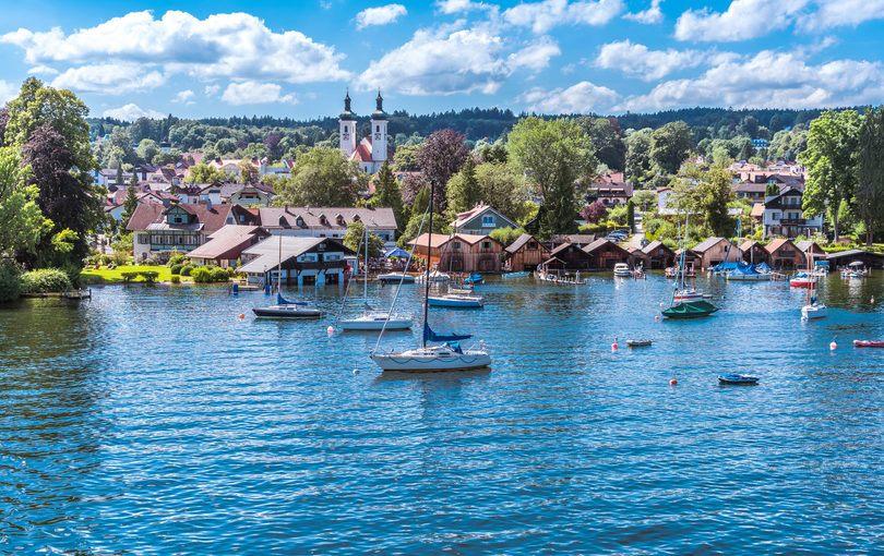 Starnberger See i Bayern